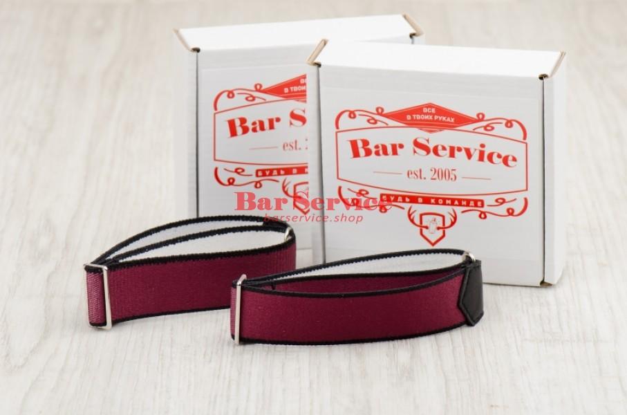 Армбенды, цвет бордо. Bar Service в Твери